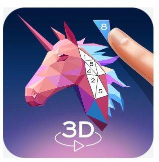 3D-Kunst: Malen nach Zahlen